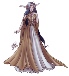 Moco Gala: Lily's Dress by Little-Moose