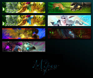 Banner-wall 6 by Mipeo