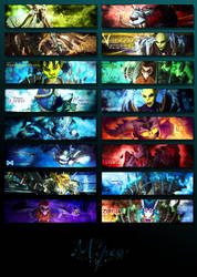 Banner-wall 7 by Mipeo