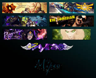 Banner-wall 9 by Mipeo