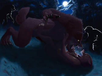 Alpha vs Omega by TeknicolorTiger