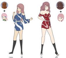 $ Saki-Haruna Choc. Fusion by DB-Palette