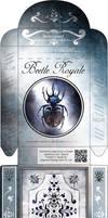 Beetle Royale: Poker Deck Box - Dark Variant by atomantic