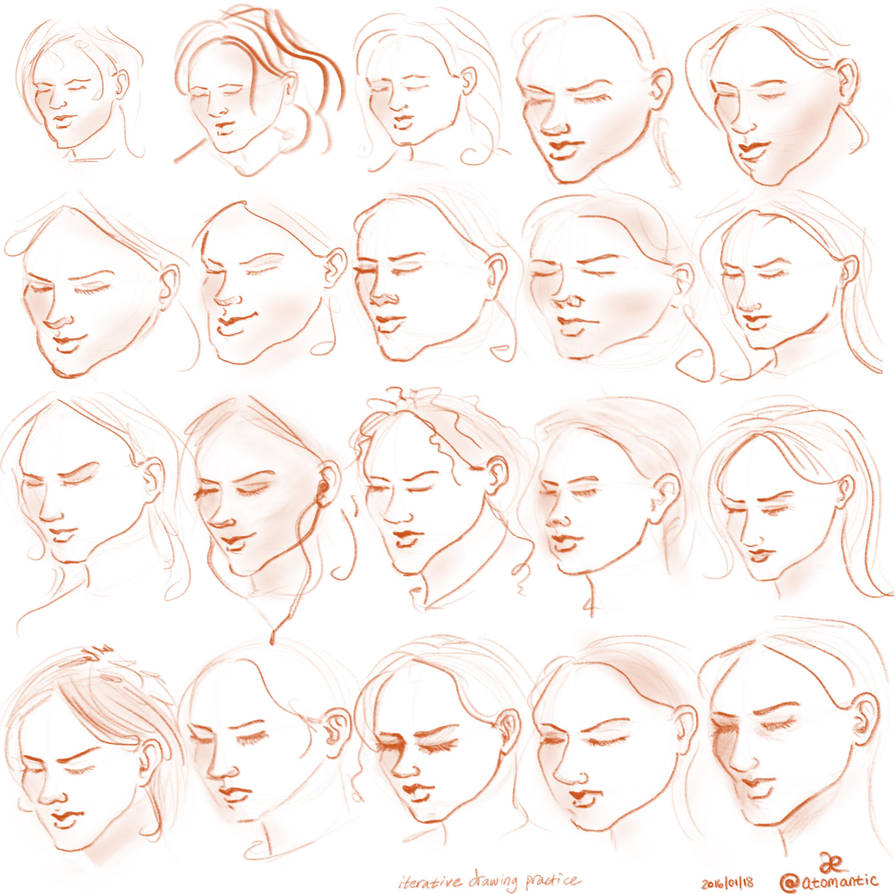 Iterative Drawing by atomantic