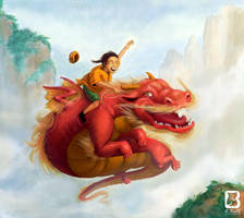 Dragon Dance by LindseyBell