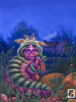Monster in the Garden by LindseyBell