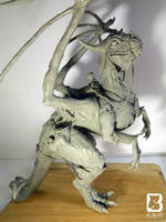 Dragon Sculpture by LindseyBell