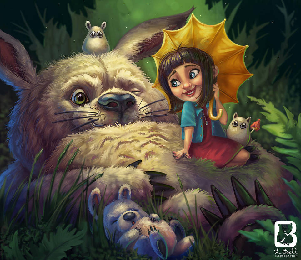 I love Totoro by LindseyBell