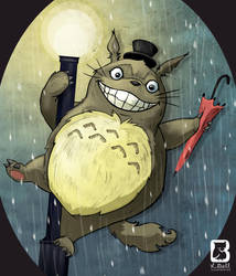 Totoro by LindseyBell