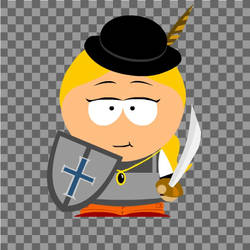 Isabel Quinn in south park form by FireEmber345