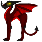 Tadashi in dragon form by FireEmber345