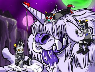 Curse of the Sweati by DarkPoinko