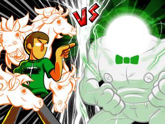 Round One FIGHT by DarkPoinko