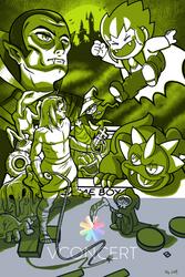 Kid Castlevania Adventure by DarkPoinko