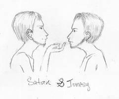 SatanxJonesy by Emthehotpinkbunny