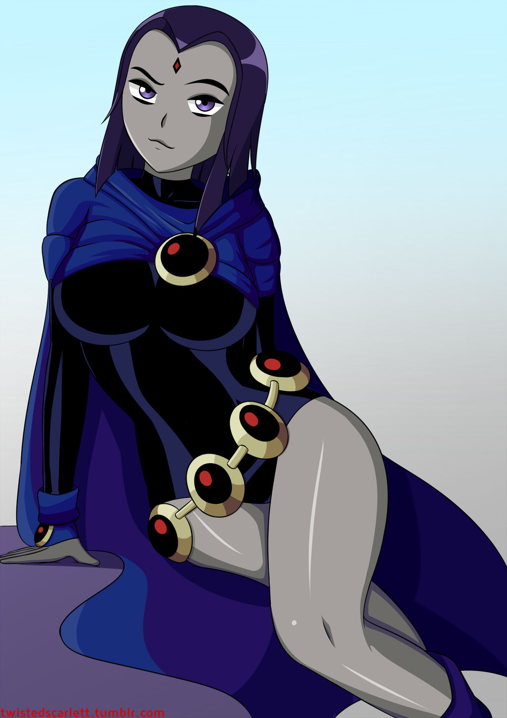 Teen Titans Raven By Twistedscarlett60 On Deviantart-4336
