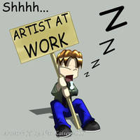 ID Lazy Artist by Neo-Kaiser