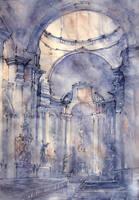 Baroque interior by Kot-Filemon