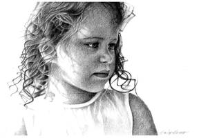 Child portrait by Kot-Filemon
