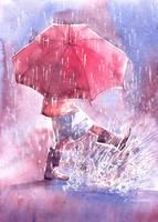 Umbrella by Kot-Filemon
