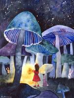 Mushrooms by Kot-Filemon