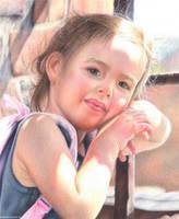 Portrait of a girl by Kot-Filemon