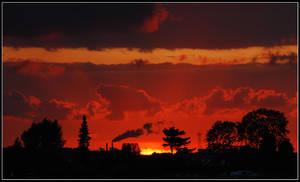 Modern life sunset clouds by Esperimenti