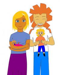 Serio, Azul e seus filhos by Nobodyer