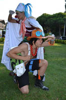Ace e Buggy  One Piece cosplay by RedAceCosplay