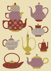 Tea Pots by BellaPotchy