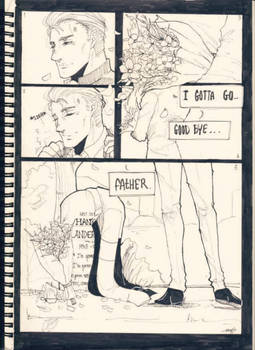 Fanart[detroit:become human]Till death apart us.. by CarmenDarkScarlet