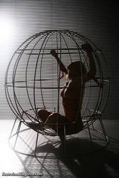 Paige Caged by RestrainedElegance
