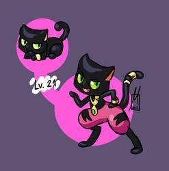 Funk cat by BrasioPkmn