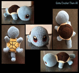 Crochet Squirtle by Chezza932
