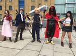 Final Fantasy VII - Party Members 5/9 - MCM 2018 by LupiViri