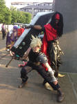 FFVII - Cloud and Vincent 2/2 by LupiViri