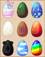 --Mystery Fairy Egg Adopts-- (closed) by RasTear
