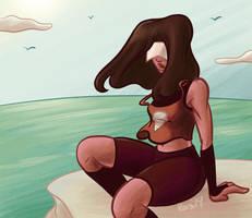 Steven Universe - Casual Garnet by RasTear
