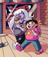 SU Hanging Out by RasTear