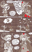 minish cap - kinstone comic 2 by RasTear