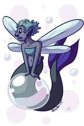 Water Fairy by RasTear