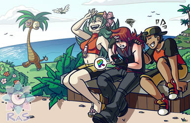 GS Vacation by RasTear