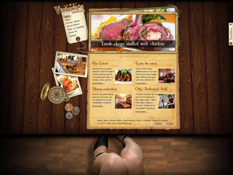 Steak House - home page design by hakintosh