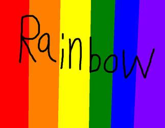 Rainbow by Rainbow--Pawz