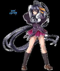 [HighSchool DxD] Himejima Akeno Render by shadowmilez