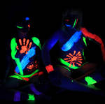 Technicolor: Rave Yogis by Catwoman69y2k