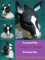 Painted Gas Mask: Grumbles by Catwoman69y2k