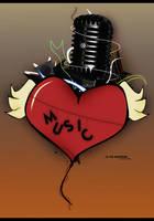 Music is my Boyfriend by Thez-Art