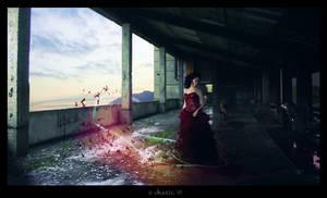 Leavin' no memories by Thez-Art