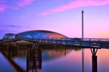 Millennium Bridge and Science Centre 2 by Klikiti-Klik